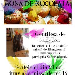 "RIFA ""MONA DE XOCOLATA"""